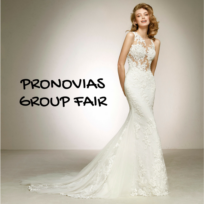 4日間限定!!PRONOVIAS GROUP SUMMER FAIR PRONOVIAS 2018年COLLECTIONが横浜に集合